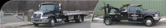 Either flatbed or wheel-lift tow truck, Precision Auto Body and Transport can help you when you need us