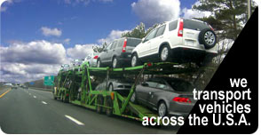On these car carriers, we transport vehicles across the U.S.A.